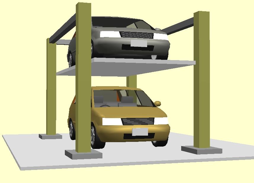 昇降自動式駐車装置