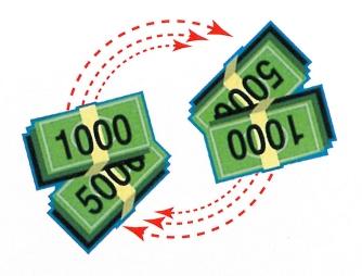 千円・5千円紙幣還流式